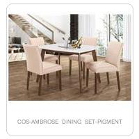 COS-AMBROSE DINING SET-PIGMENT